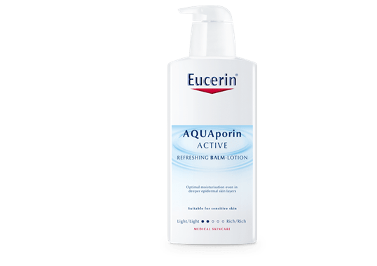 لوشن الجسم المنعش Eucerin AQUAporin ACTIVE Refreshing Balm-lotion Rich